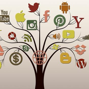 Tree with various Digital Marketing platform